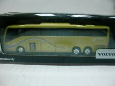 WOW EXTREMELY RARE Volvo Bus 9700 NG 3-Axle 2008 Gold HO Scale 1:87 Motorart