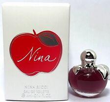 NINA RICCI NINA EAU DE TOILETTE MINI SPLASH FOR WOMEN 0.14 Oz / 4 ml TRAVEL SIZE