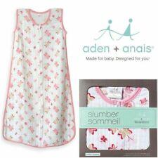 Aden and Anais Princess Posie Sleeping Bag Lightweight 100% Cotton Muslin size S