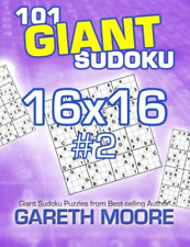 Moore Gareth - 101 Giant Sudoku 16X16 #2 (Us Import) Book New