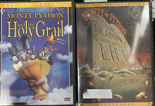 Monty Python Set / Lot / Series: Holy Grail and The Meaning Of Life (DVD)