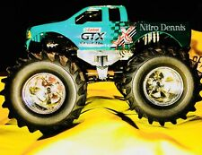 NHRA JOHN FORCE 1:43 Diecast MONSTER TRUCK Funny Car NITRO Muscle Machine SIGNED