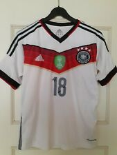 Football / Soccer Shirt Toni Kroos from Germany 2014 Worldcup winners, size S.