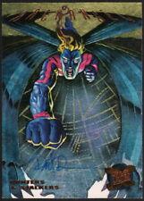 Dave DeVries SIGNED 1995 Fleer Ultra X-Men Art Card Archangel Hunters Stalkers