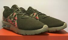 Nike Mens SZ10.5 Air Max Sequent 3 C Running Nuetral Olive Camo Shoes AJ0004 201