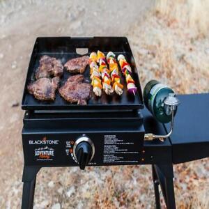 "Blackstone Adventure Ready 17"" Tabletop Outdoor Griddle Portable Gas Cook"