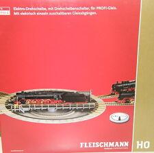 Fleischmann H0 6152 C Drehscheibe elektrisch für Profi-Gleis - NEU + OVP