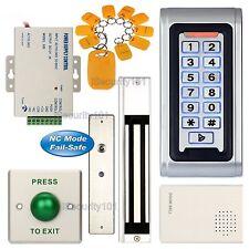 Waterproof Access Control ID Keypad Door Entry System Set + 280KG Magnetic Lock
