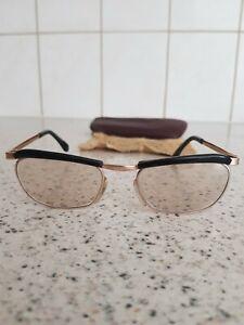 Vintage Marwitz Optima  Brille, 50er Jahre, 18 / 130, vergoldet, gebraucht