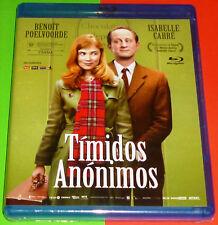TIMIDOS ANONIMOS / Les émotifs anonymes - Français Español - Bluray AREA B Preci