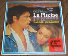 LA PISCINE (Michel Legrand) orig. factory sealed France stereo lp (2010) reissue