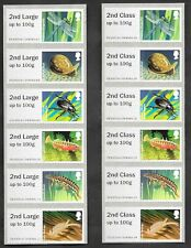 Error 2nd Class & 2nd Large on Freshwater Life: Ponds Post & Go strips.