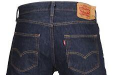 Levi's 501 Medium Blue Button Front Straight Leg Denim Jeans Size 40 X 32
