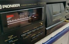 PIONEER CT- S820S Tape Deck  3 Heads BC HX PRO BLE Auto Calibration Serviced