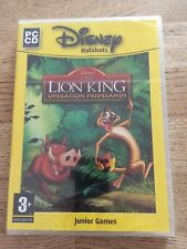 Disney The Lion King Operation Pridelands (PC CD) New and Sealed.