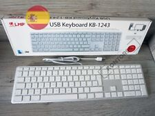LMP Alu Mac USB Tastatur m. Ziffernblock Apple Keyboard ES Spain (QWERTY) Silber