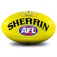 Sherrin AFL Replica Training Ball