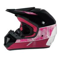 BRP CAN AM XC 4 MX Moto Cross 2XL 4483971236 Black Pink Red