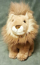 "Gibson Greetings LION Plush Vintage 10"" Tan Stuffed Wild Cat Stuffed Animal Toy"