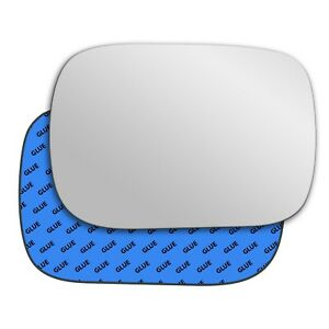 Right wing adhesive mirror glass for Volvo XC70 2000-2007 201RS