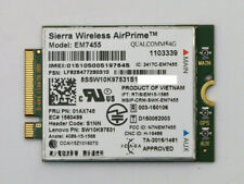 New Lenovo Thinkpad WWAN M.2 Sierra EM7455 LTE 4G 01AX748 01AX746 X1 X270 T470