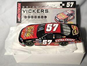 NASCAR 1:24 BRIAN VICKERS 2006 #57 ORE-IDA BUSCH MONTE CARLO SIGNED!