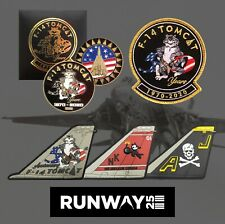 F-14 Tomcat 50th Anniversary Pack - Coin & Patch Set + 3x PVC Patches