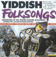Orchestra of the Jewish Theatre Bucharest Yiddish folksongs (Chajim Schwa.. [CD]
