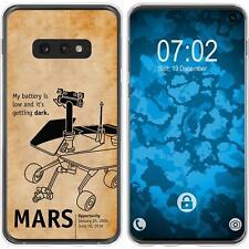 Case für Samsung Galaxy S10e Silikon-Hülle Space Rover M2 Cover