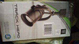 Lithonia Lighting 1-Spot Light Oil-Rubbed Bronze LED Head Track Dimmable Fixture
