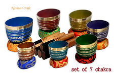Chakra-HealingTibetan-Singing-Bowl-7-Sets-of-Meditation-Bowls-Nepal-byThamelmar
