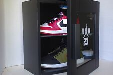 Black Jordan Nike AIR Display case Led sunglasses watches and other gear 11 12 4