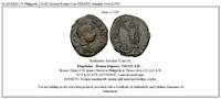 ELAGABALUS Philippolis 218AD Ancient  Roman Coin SERAPIS Antiquity God  i21500