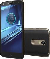 Motorola Droid Turbo 2 -32GB- Gold/Black Leather (Verizon) GSM Unlocked -GREAT