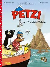 Petzi-il fumetto 1-Petzi e il vulcano-tedesco-Carlsen-COMIC - Merce Nuova