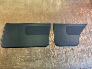 Holden Torana LH-LX-UC Front and Rear Door Trim Cards (Black)