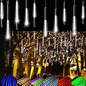 Meteor Shower Falling Star Rain Drop Lcicle Snow Fall LED XMAS String Lights AU