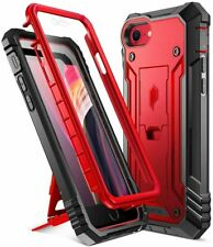 iPhone SE (2020) / iPhone 7/8 Case,[w/Kick-stand] Poetic Shockproof Cover Red