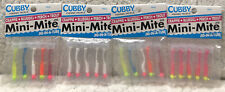(4) Mini-Mite 1/32 Jig In A Tube Cubby Fishing Tackle Brand New Good Mix B9