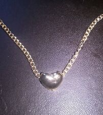 WHOLESALE 18K GOLD PLATED NECKLACE WITH SMALL HEART BIB PENDANT INC GIFTBOX.
