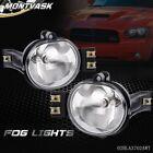 Fit For 02-08 Dodge Ram 1500 2500 3500 04-06 Dodge Durango Fog Lights Pairbulb