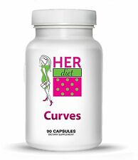 HERdiet Curves for Women Breast Size Enhancement Pills for Fuller Larger Brea...