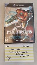 Nintendo GameCube / Metroid Prime 2: Echoes / w/booklet VG Video Game 81117