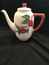 Vintage Franciscan Apple Coffee / Tea Pot with Lid