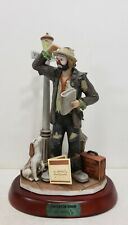 "Signed Emmett Kelly Jr.""Convention Bound"" #4418/7500 Excellent Condition"