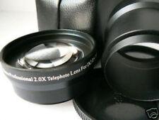 KAT BK 52mm 2.0X Tele Telephoto Lens + Adapter Tube For Nikon Coolpix P300 P310