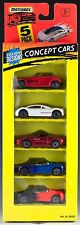 Matchbox Concept Cars 5 Pack 1995 NEW Mustang, Corvette, Audi, Plymouth Prowler