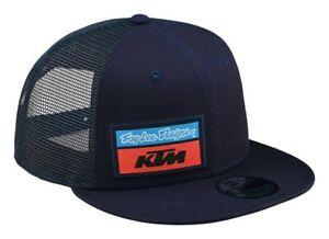 2020 TROY LEE DESIGNS KTM TEAM STOCK SNAPBACK CAP NAVY ADULT TLD HAT MX NEW BMX