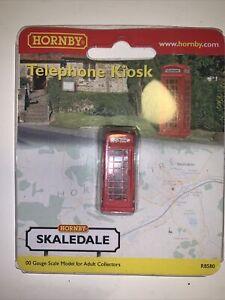Hornby R8580 Telephone Kiosk Skaledale OO Gauge BRAND NEW