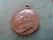 imposante médaille en bronze - luitenant-generaal a.kool- 1909